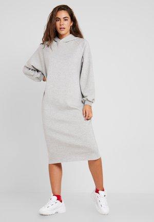 MOSI DRESS - Jerseyklänning - light grey mix