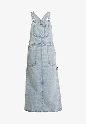HANAE PINAFORE DRESS - Jeanskleid - downtown blue