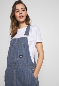 Dr.Denim - MICHIGAN PINAFORE - Denimové šaty - shift workers washed - 4