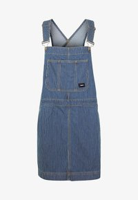 Dr.Denim - MICHIGAN PINAFORE - Denimové šaty - shift workers washed - 5