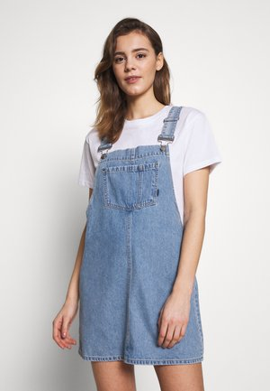DUNGAREE DRESS - Jeanskjole / cowboykjoler - day shift blue