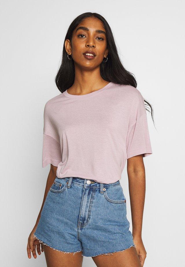 JACKIE TEE - T-Shirt basic - rose quartz