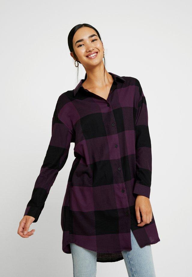 SUNDAY SHIRT - Button-down blouse - purple