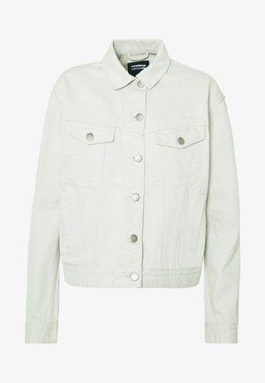 ALVA TRUCKER JACKET - Denim jacket - washed pinfire