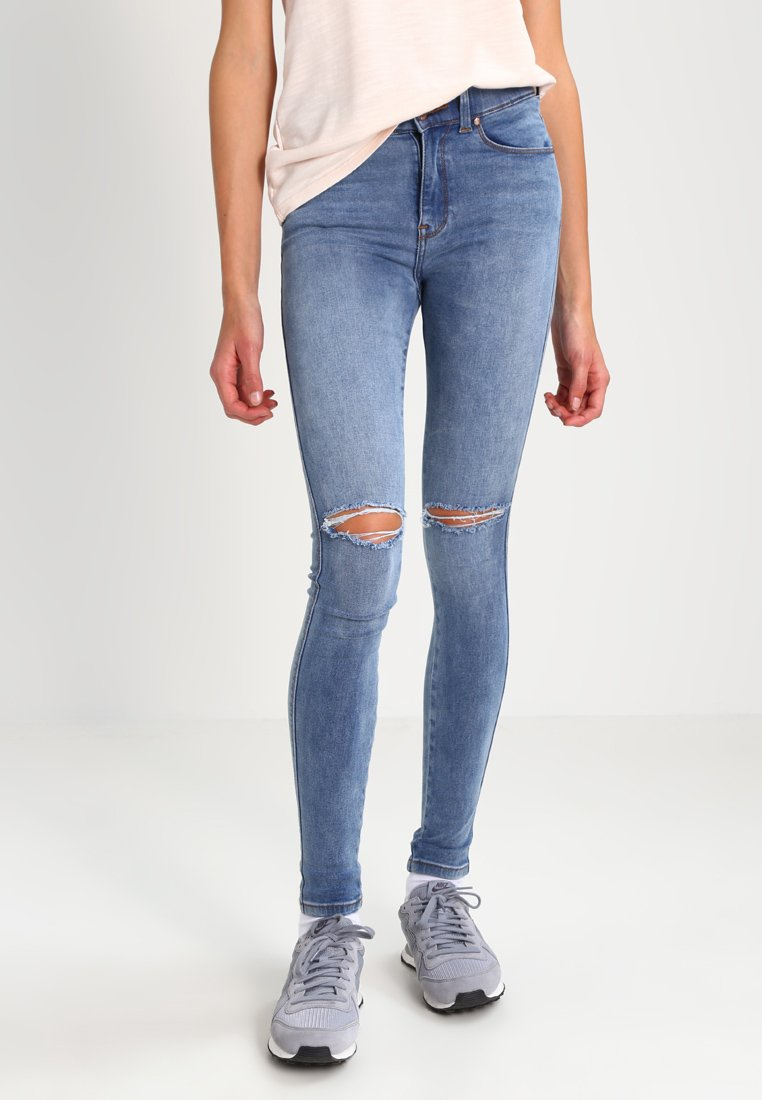 Dr.Denim - LEXY - Jeans Skinny Fit - light stone destroyed