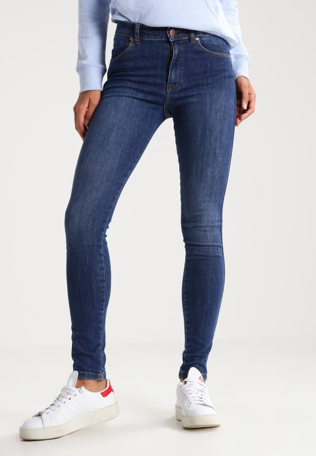 LEXY - Jeans Skinny Fit - organic mid blue