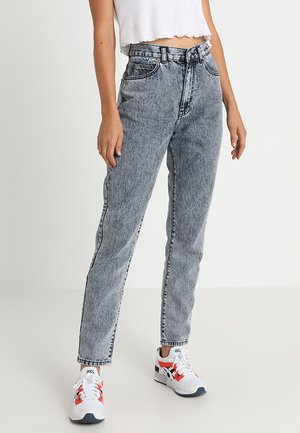 NORA - Jeans baggy - muddy blue