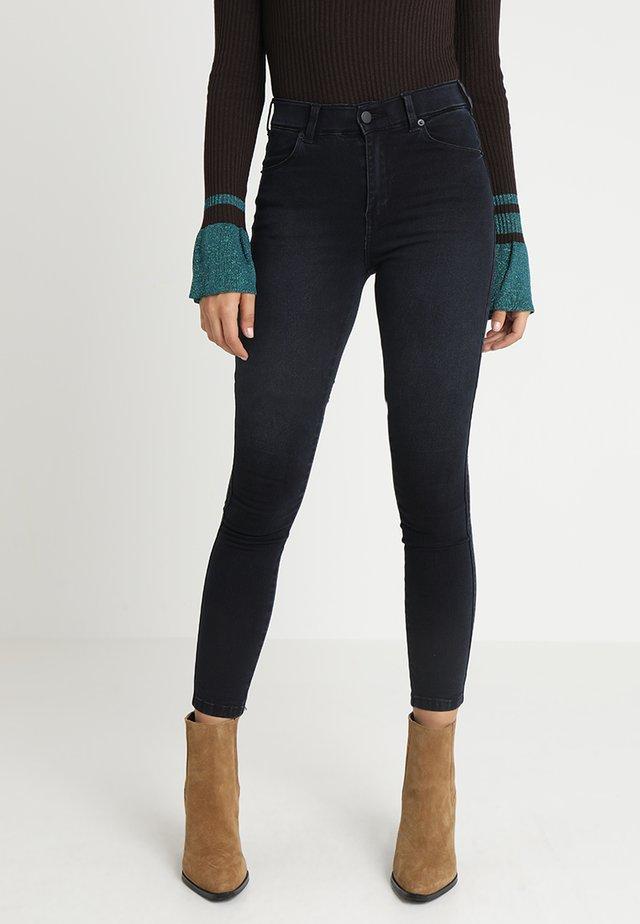 LEXY - Jeans Skinny Fit - pitch dark blue