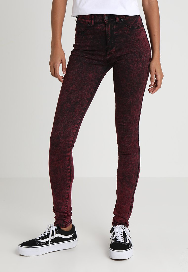Dr.Denim - PLENTY - Farkkuleggingsit - punk red