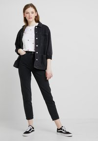 Dr.Denim - NORA - Jeans baggy - retro black - 1