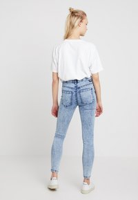 Dr.Denim - LEXY - Jeans Skinny Fit - structure blue - 2