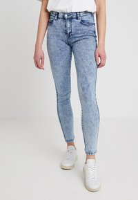 Dr.Denim - LEXY - Jeans Skinny Fit - structure blue - 0