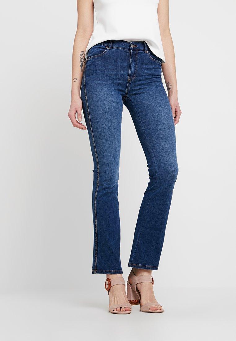 Dr.Denim - SONIQ - Flared jeans - atlantic deep blue
