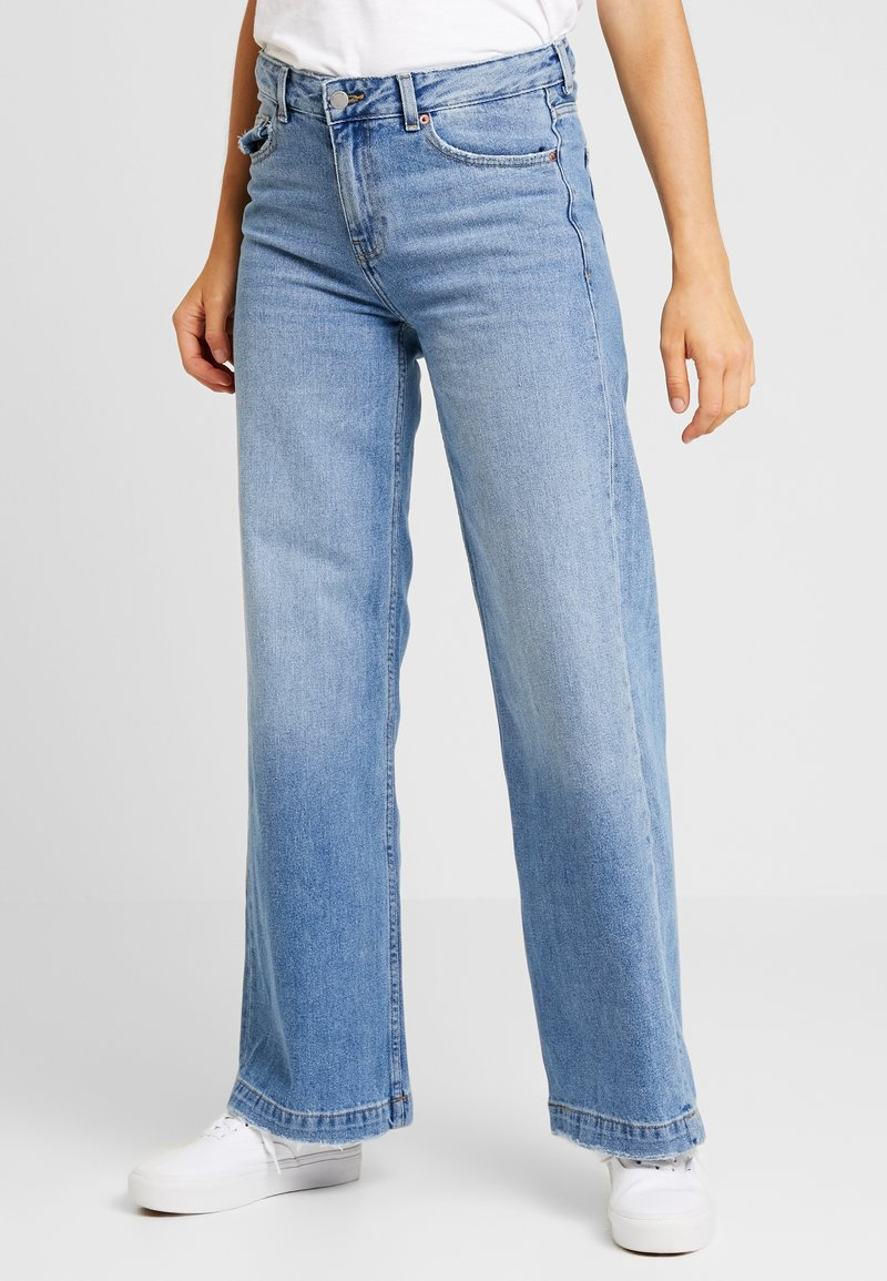 Dr.Denim - JAM - Flared Jeans - melrose blue