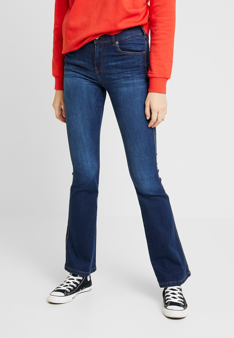 Dr.Denim - SONIQ - Jeans Bootcut - atlantic dark blue