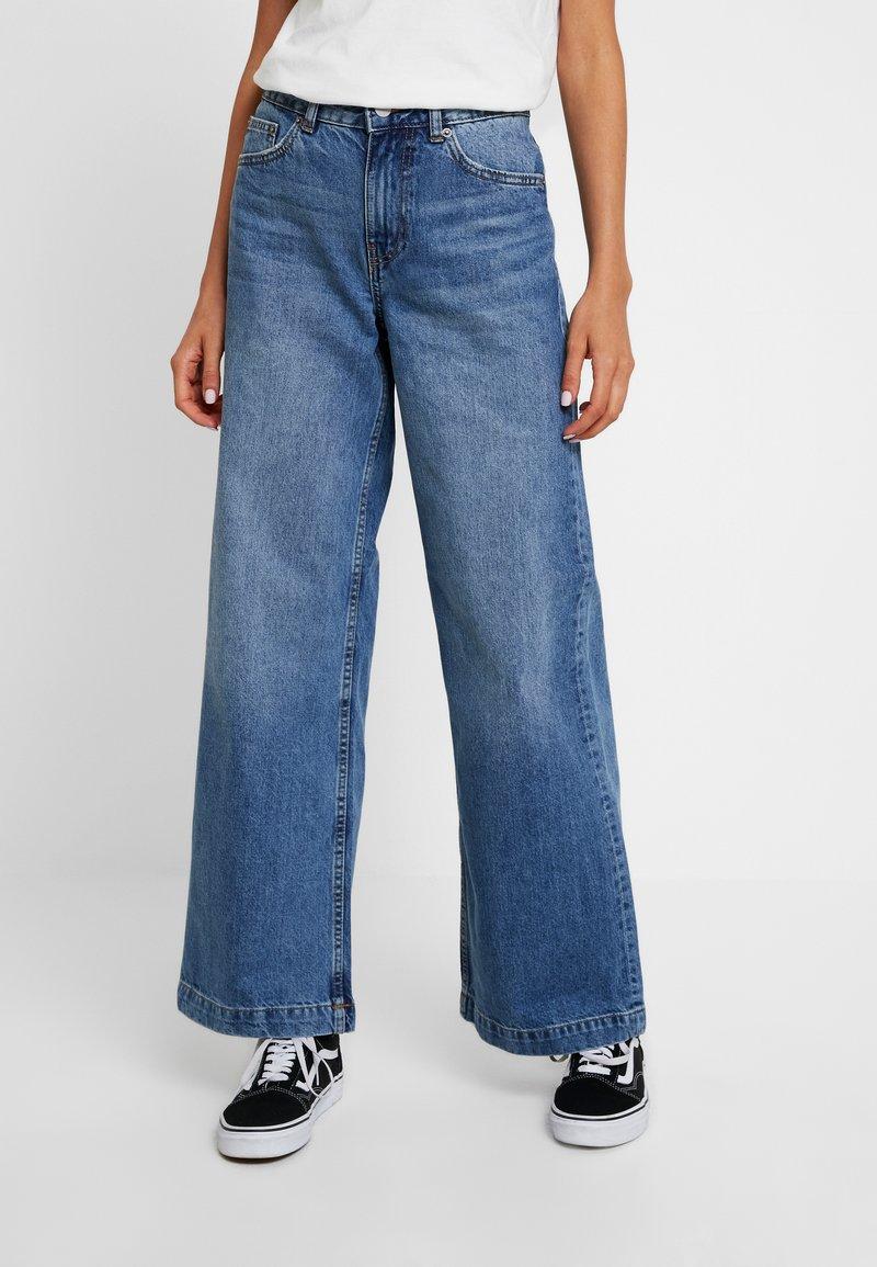 Dr.Denim - JAM - Široké džíny - nostalgic blue
