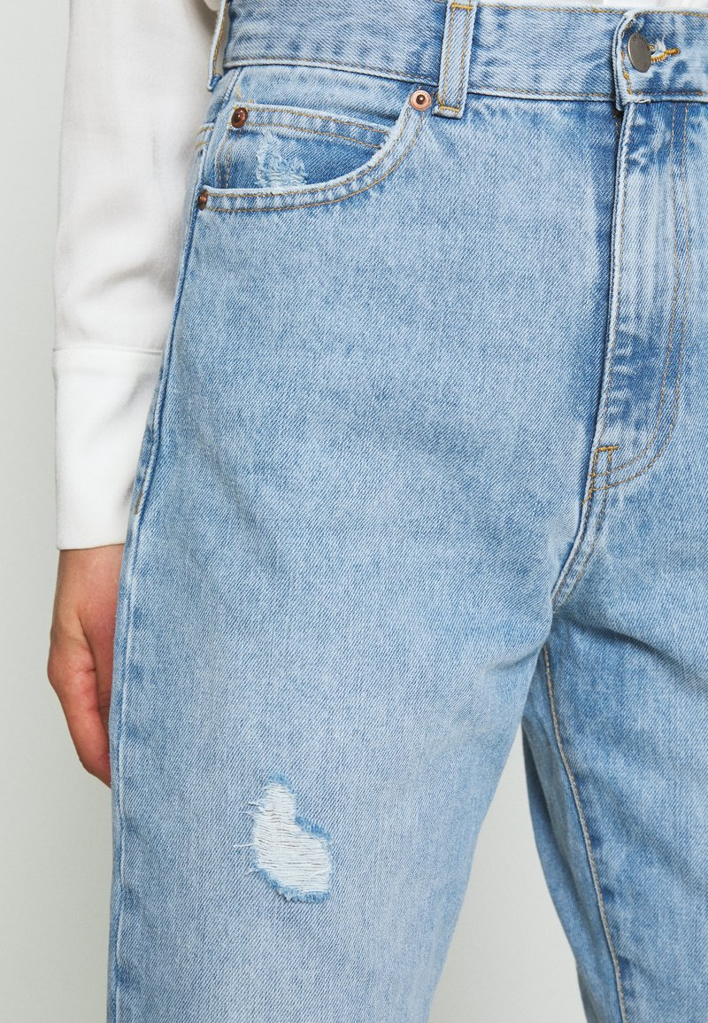 Dr.Denim NORA MOM - Jeans relaxed fit - destiny blue ripped