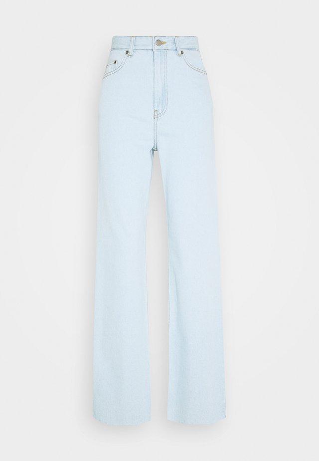 ECHO - Jeans Straight Leg - superlight indigo blue