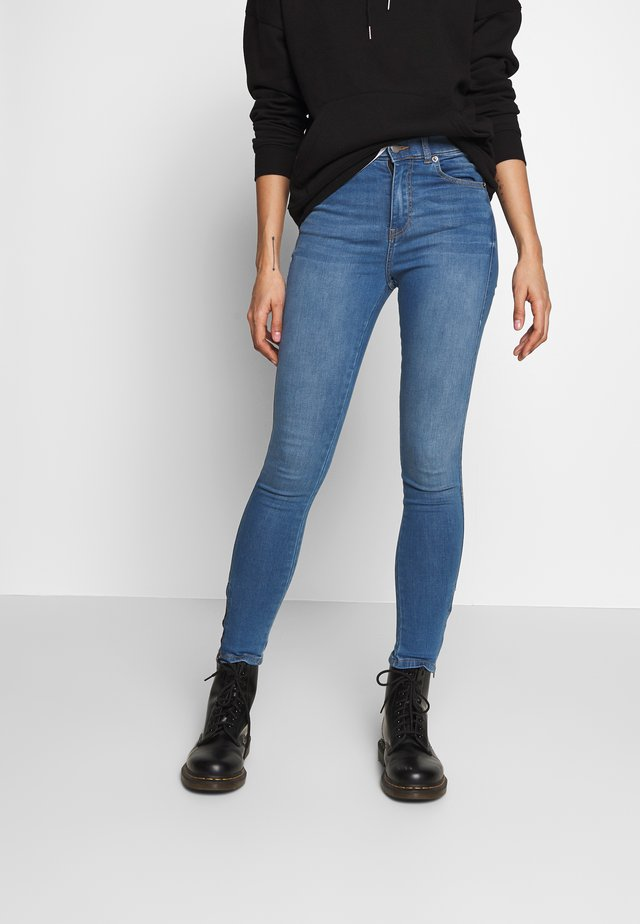 LEXY ZIP - Jeansy Skinny Fit - atlantic blue