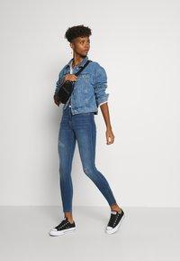 Dr.Denim - LEXY ZIP - Jeans Skinny Fit - vagabond blue - 1