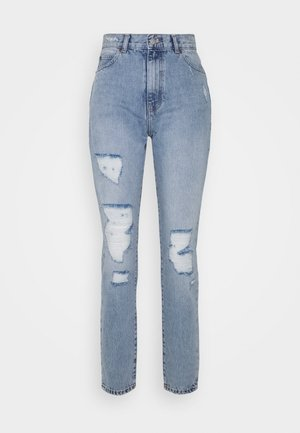 NORA - Jeans relaxed fit - destiny light blue ripped