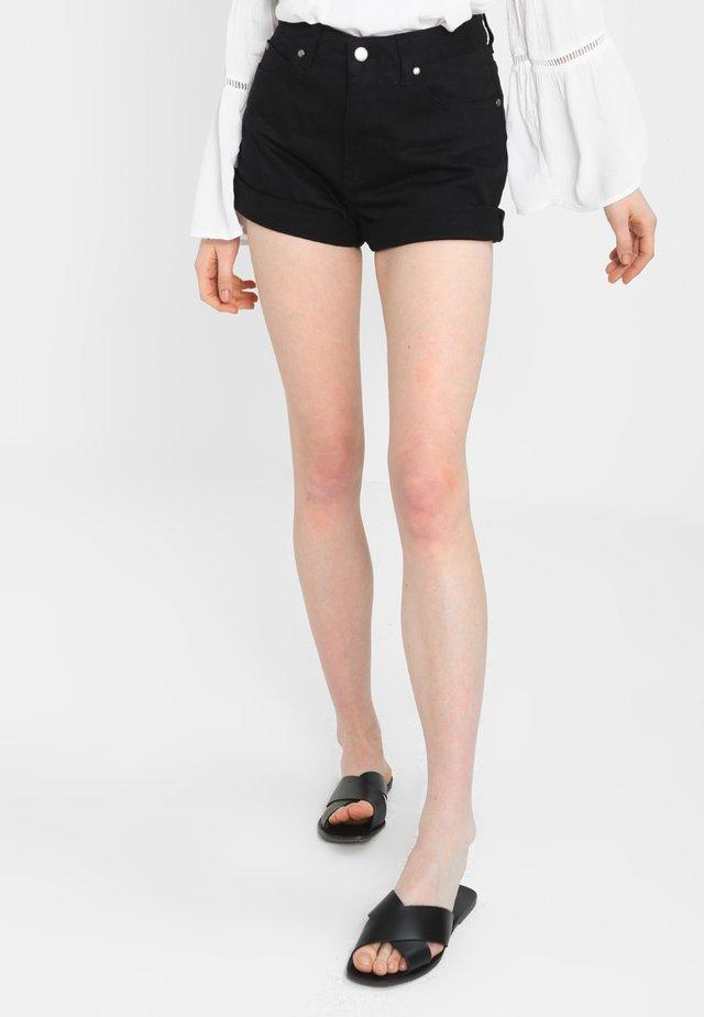 JENN  - Jeans Shorts - black