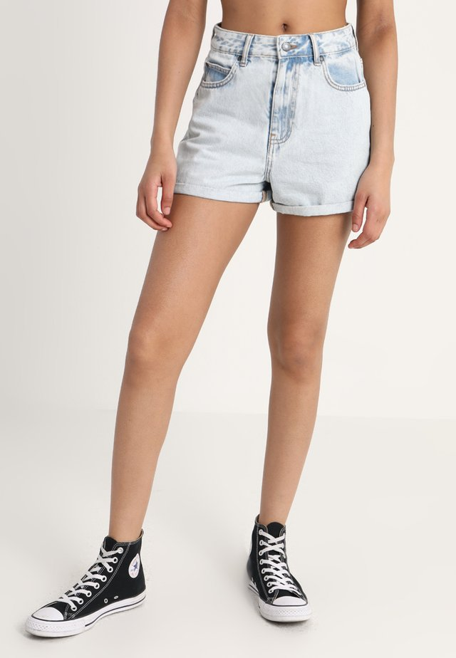 JENN - Denim shorts - superlight blue