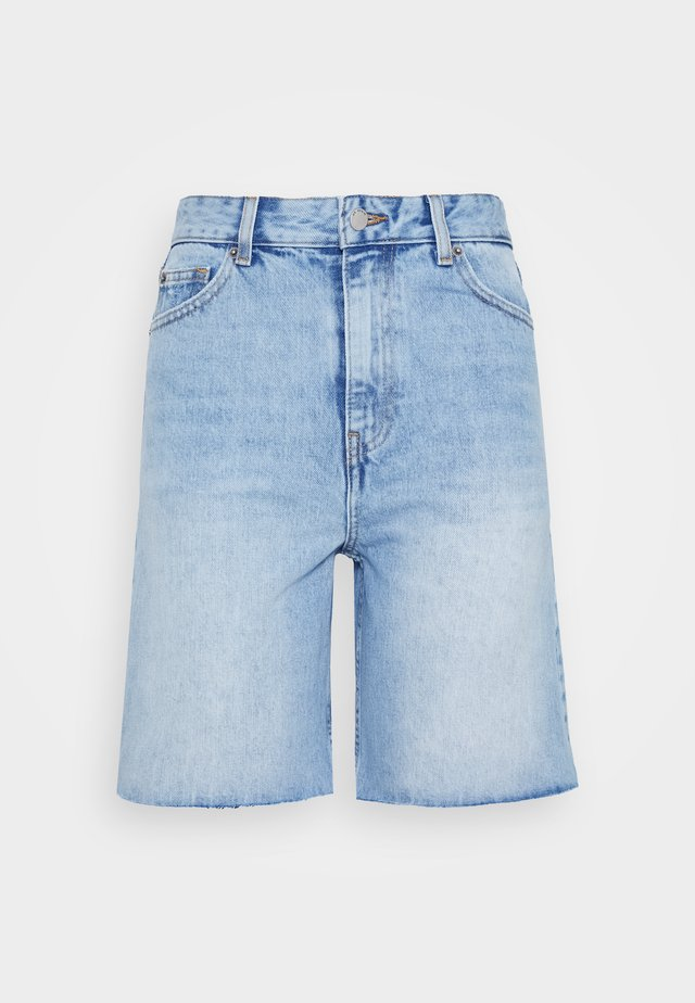MEJA DENIM SHORTS - Denim shorts - destiny blue