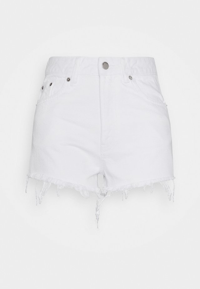 SKYE - Denim shorts - white