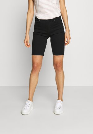 LEXY BICYCLE - Jeansshorts - black
