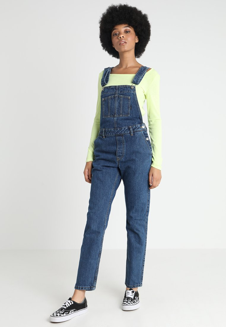 Dr.Denim - WASSILY DUNGAREES  - Latzhose - hawkins blue
