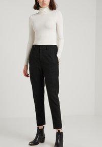 DRYKORN - FIND - Kalhoty - black - 0