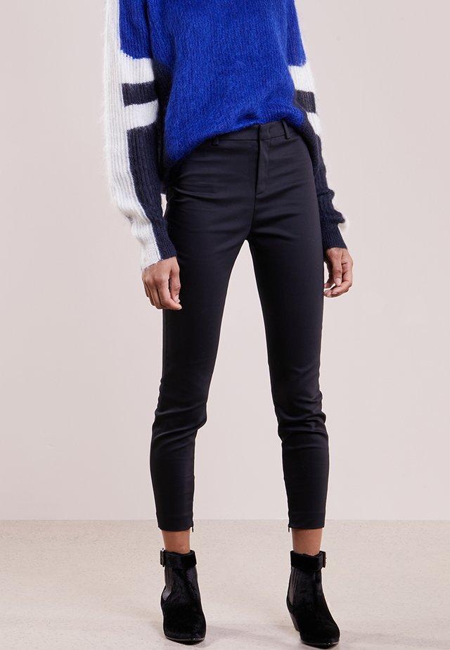 WINCH - Trousers - schwarz