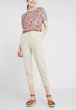 LEVEL - Pantalon classique - creme