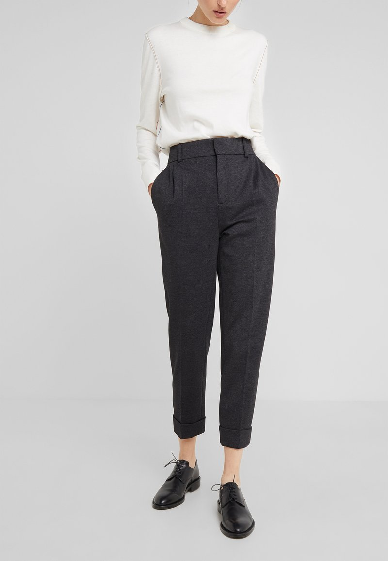 DRYKORN - EMOM - Trousers - anthracite