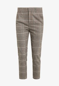 DRYKORN - FIND - Trousers - brown/turquoise - 3