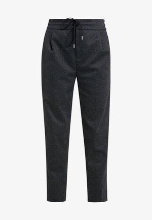 LEVEL - Spodnie materiałowe - anthracite