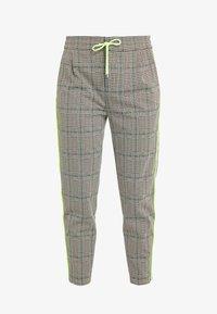 DRYKORN - LEVEL - Kalhoty - check neon - 3