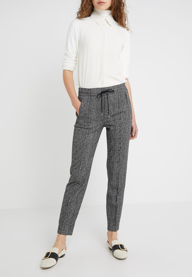 DRYKORN - BLANKED - Trousers - salt and pepper