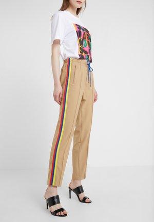 BLANKED - Spodnie materiałowe - beige