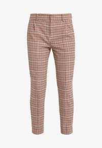DRYKORN - LOAD - Trousers - orange check - 4