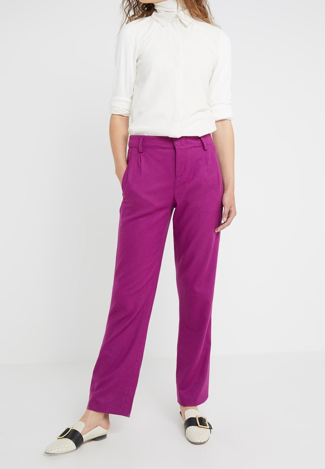 GORGEOUS - Pantalon classique - violet