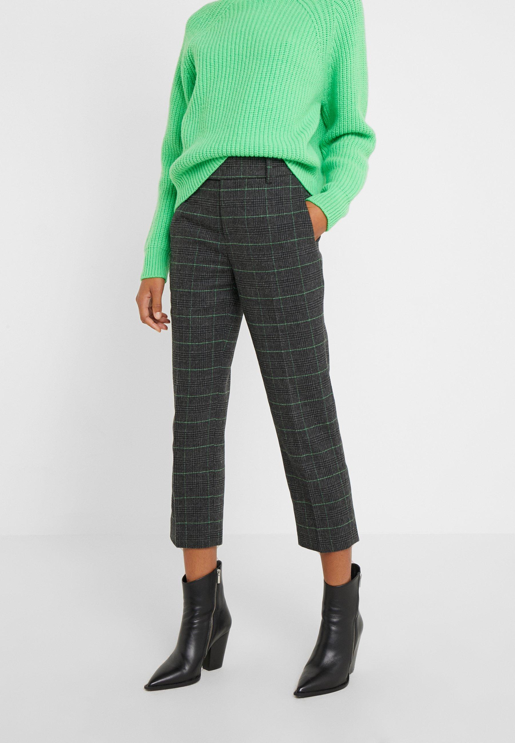 DRYKORN BEGIN - Spodnie materiałowe - grau