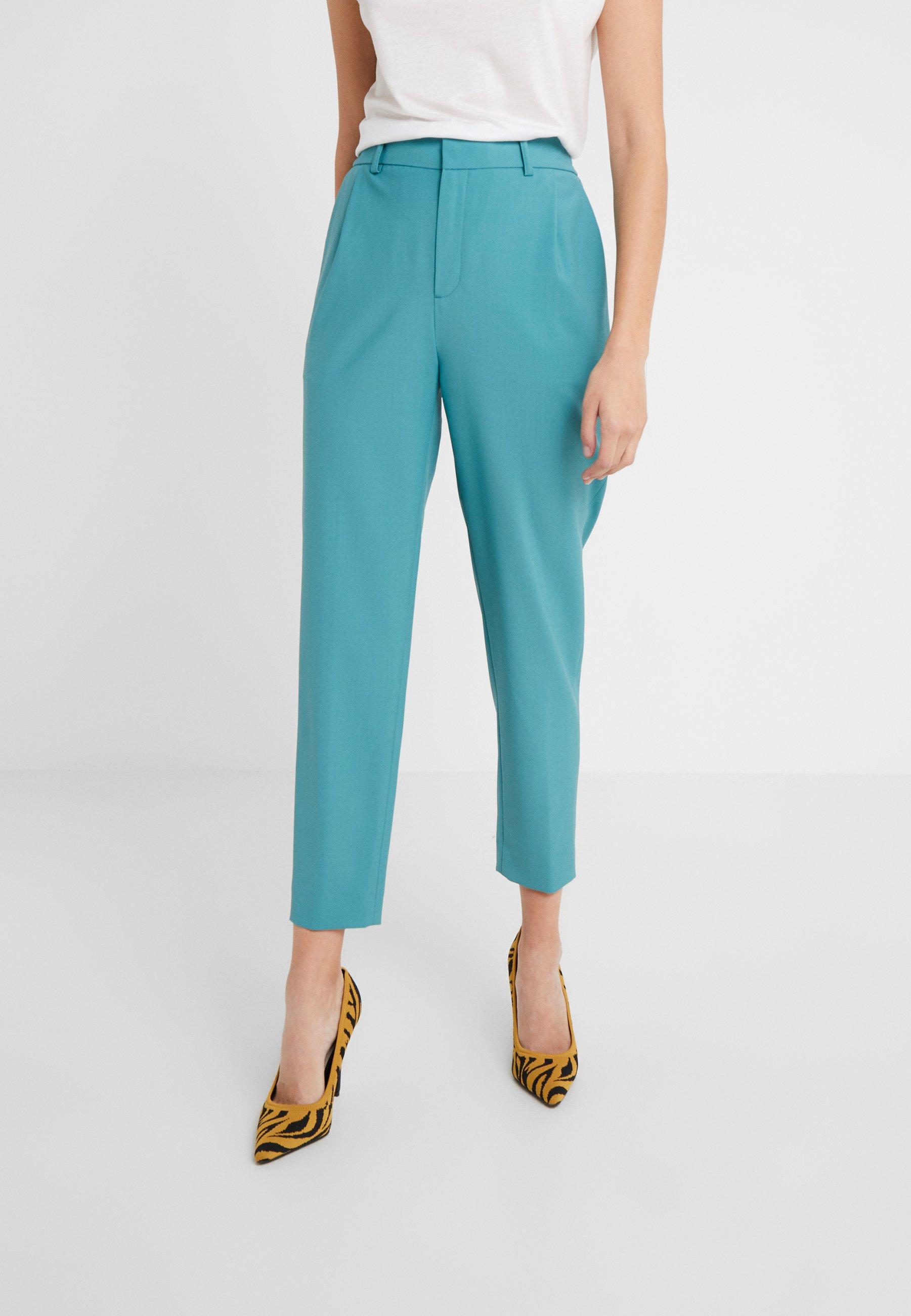 DRYKORN FIND - Spodnie materiałowe - green
