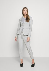 DRYKORN - LEVEL - Trousers - silver - 1