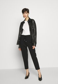 DRYKORN - LEVEL - Trousers - black - 1