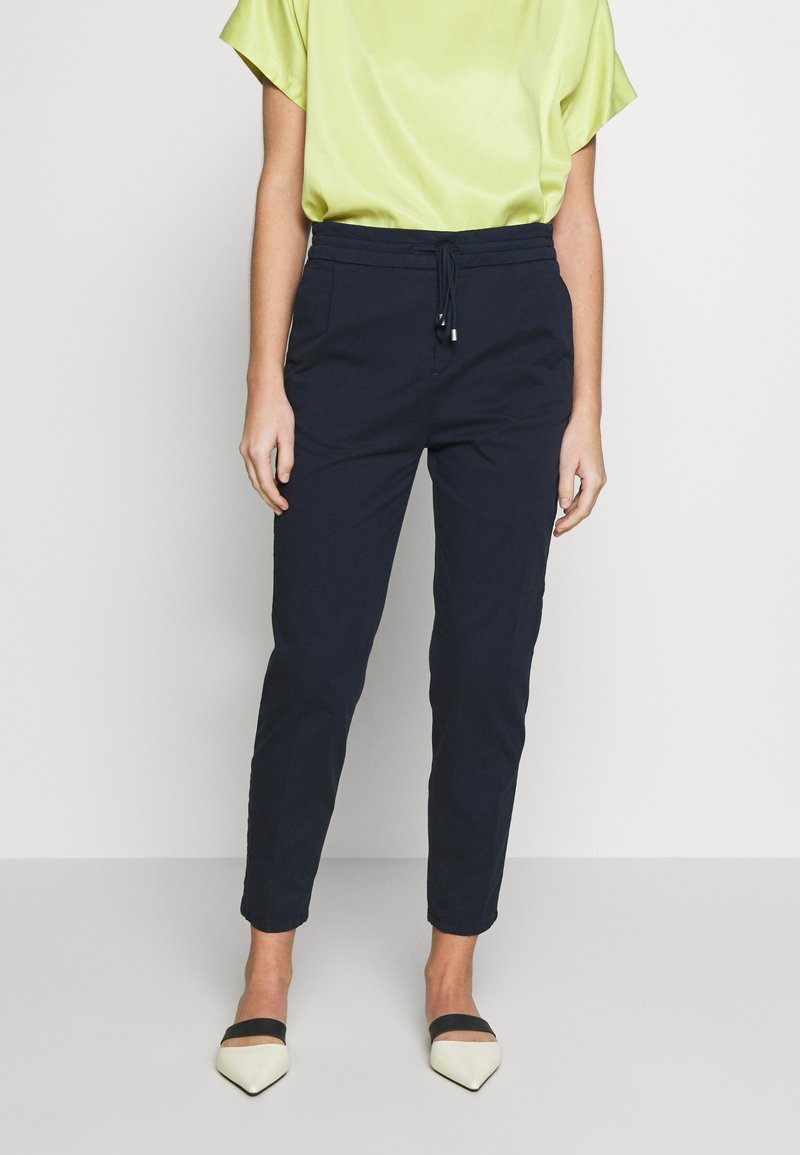 DRYKORN - LEVEL - Trousers - navy