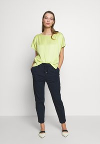DRYKORN - LEVEL - Trousers - navy - 1