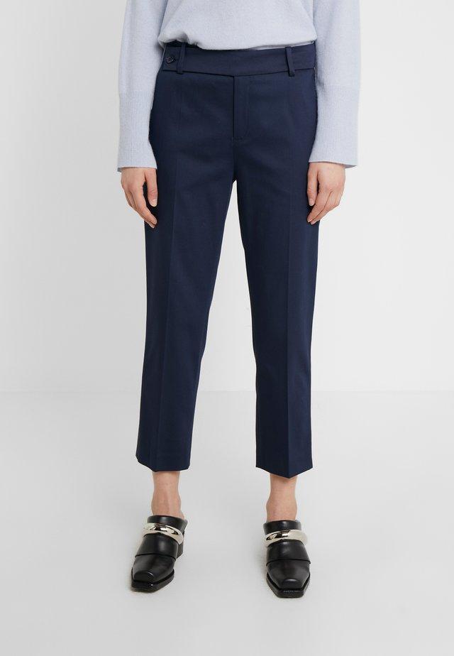 BEGIN - Spodnie materiałowe - navy