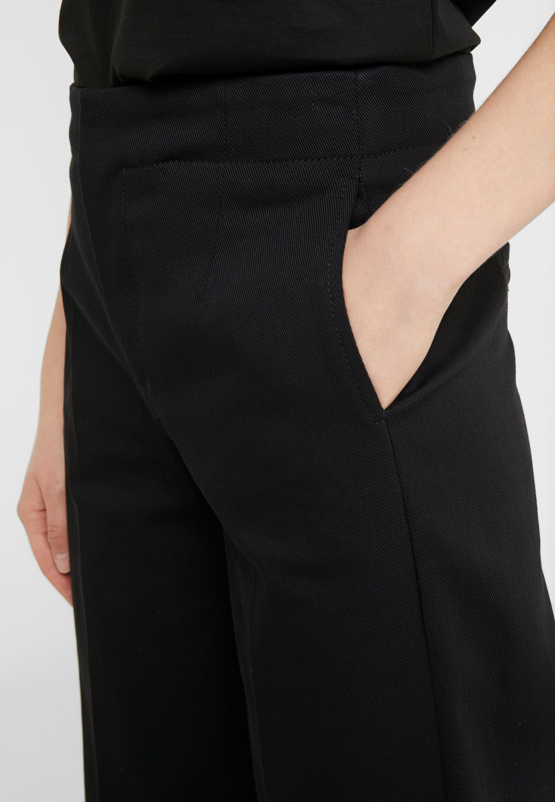 DRYKORN BONNET - Spodnie materiałowe - black